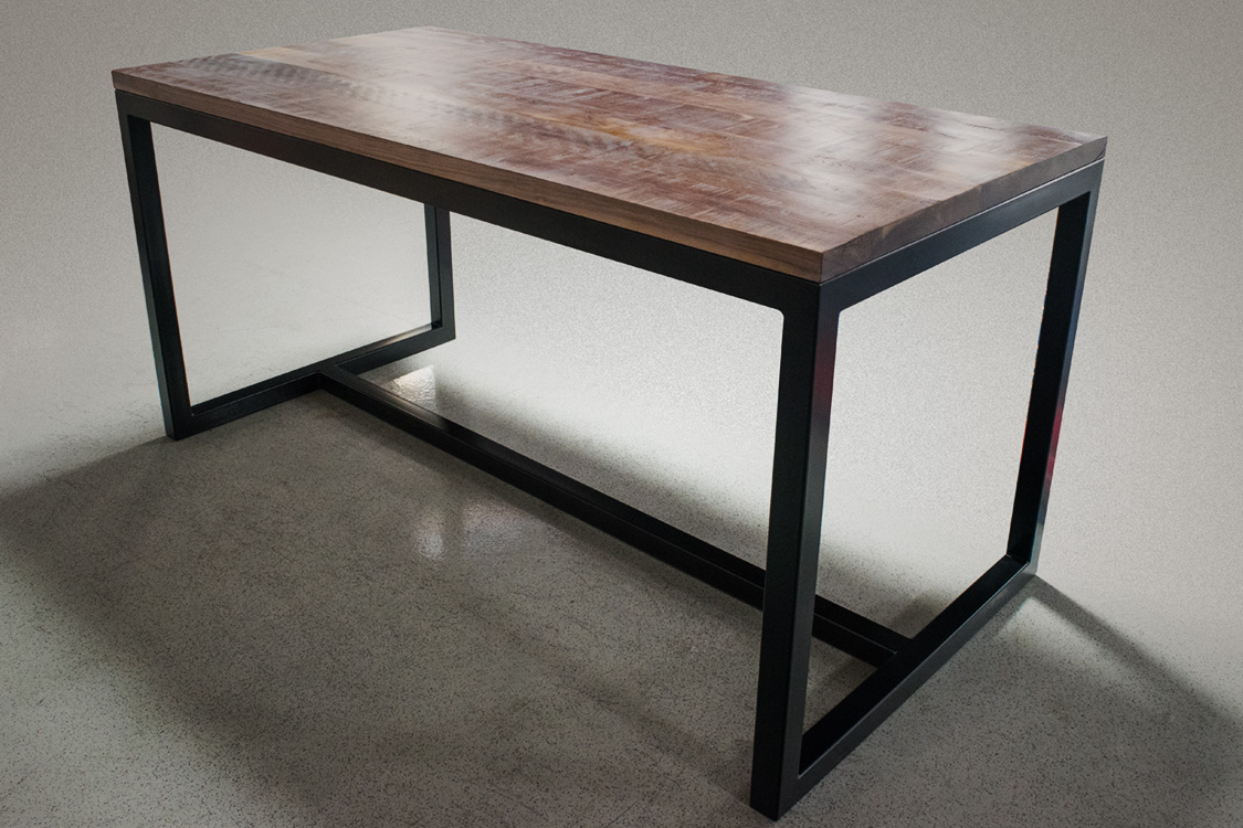 Bar height dining table yamwood foundry bar height dining table watchthetrailerfo