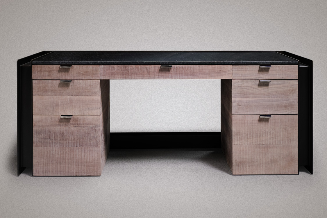 I-Beam Executive Desk