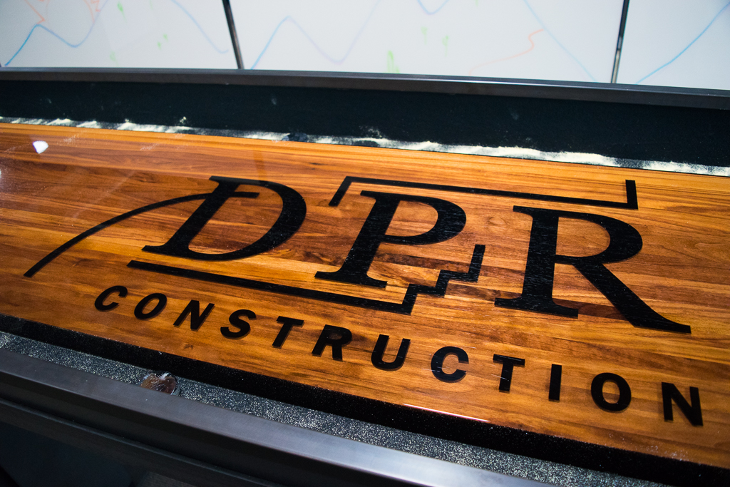 DPR Custom Shuffleboard Table