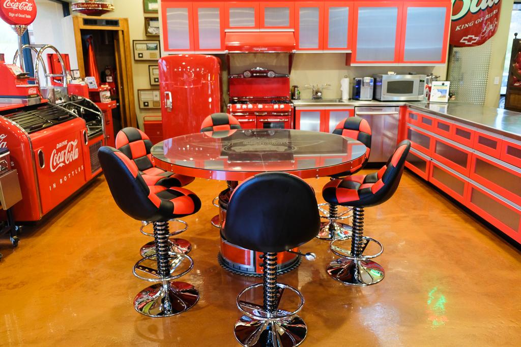 Stainless Steel Adjustable Height Table