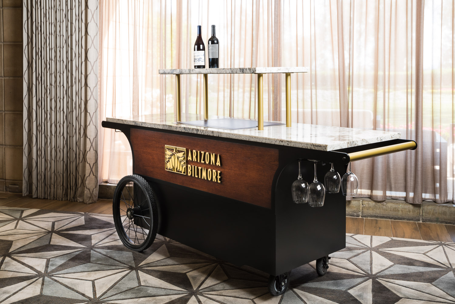 Arizona Biltmore, A Waldorf Astoria Resort lobby cart