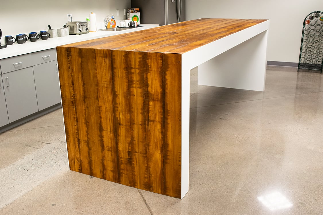 Clear Title waterfall table